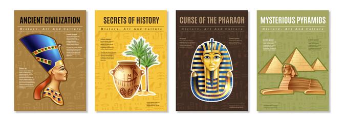 Egypt Posters Set