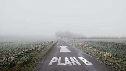 Schild 402 - Plan B