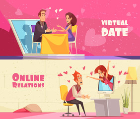 Virtual Date Horizontal Banners