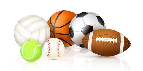 Realistic Sport Balls