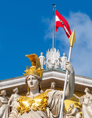 Fototapeta premium Parlament Wiedeń