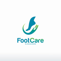 Foot Care logo designs concept vector, Iconic Foot Logo designs template