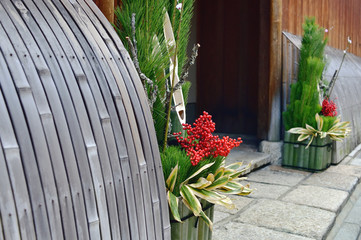 Foto op Plexiglas Asia land 京都の正月風景