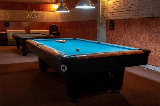 Billiard Balls and Table