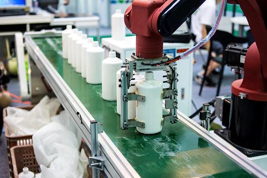 Ceramic bottle production workshop