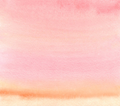 Watercolor ombre stripes background, for bright design text and tag,branding. color like yellow, orange, peach, red, pink, magenta, purple, violet, blue, turquoise, green, emerald, taupe, rainbow