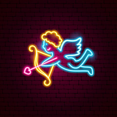 Cupid Neon Sign