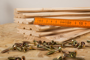 Wood tools woodworking saw screw
