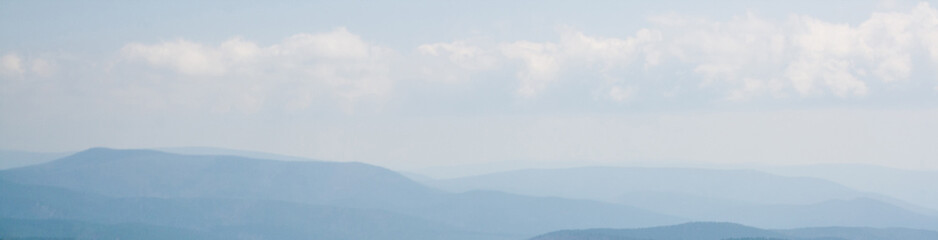 Ouachita Mountains in Oklahoma, Seen From the Talimena Drive