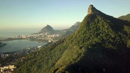 Wall Mural - Aerial view of Rio de Janeiro, Brazil