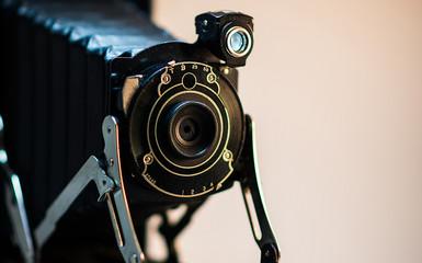 Vintage Camera in studio
