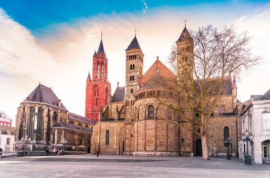 Blick vom Vrijthof in Maastricht