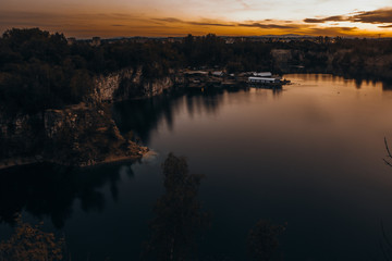Zakrzowek Lake is a fascinating lake located in Krakow, Poland, but outside from the center city. Its a beautiful and perfect place to relax and to photograph because it isn't a tourist spot.