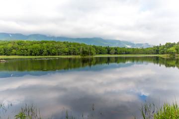 知床五湖 二湖 世界遺産 北海道
