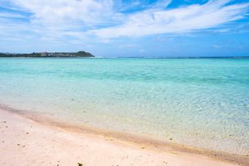 南国の海の風景