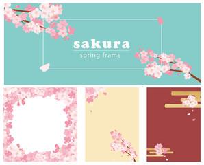 桜デザイン イラスト