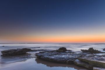 Dawn's Blush Seascape