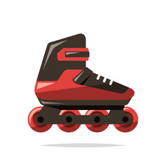 Inline skates vector isolated