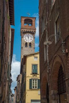 Glockenturm von Lucca, Toskana