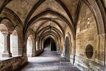 Maulbronn Monastery, former Cistercian abbey, UNESCO World Heritage Site, Maulbronn, Baden-Wuerttemberg, Germany Wall mural