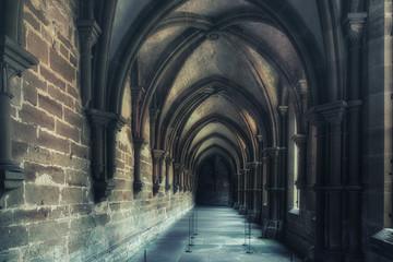 Inside the Maulbronn Monastery