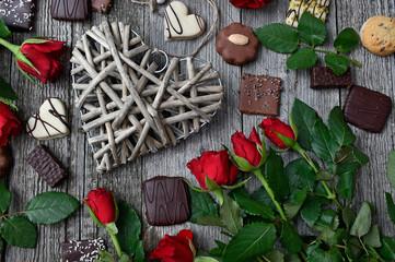 chocolate truffles for valentine day
