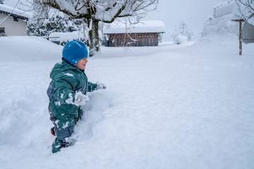 Neuschnee in den Alpen