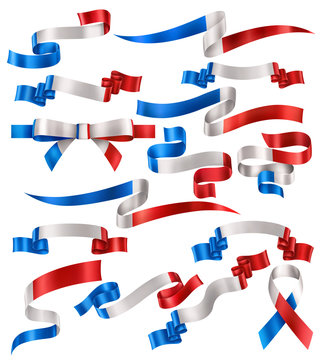 Set of French Ribbons