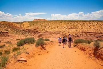 Hiking trip Gragnd canyon, Arizona, USA