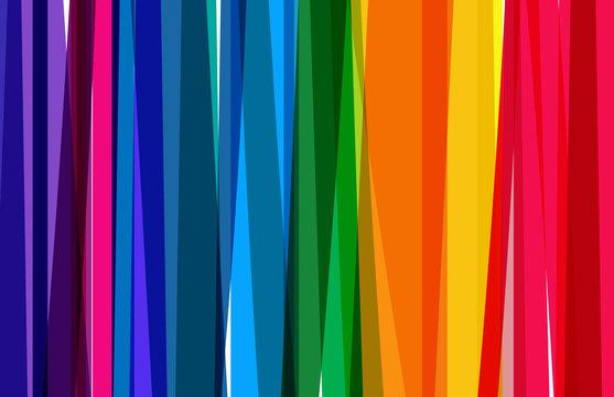 Fond bandes multicolores