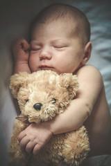 portrait of a newborn baby