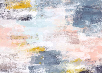 beautiful color matching paint like illustration abstract background