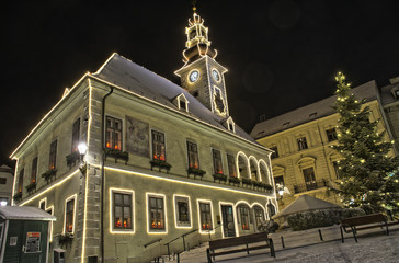 altes Rathaus in Mödling