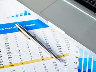 Financial data report