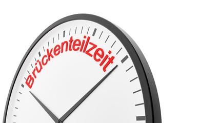Brückenteilzeit - Arbeitszeit Konzept