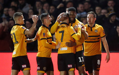 FA Cup Third Round - Newport County v Leicester City