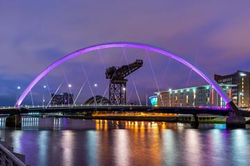 Clyde Arc Bridge Glasgow
