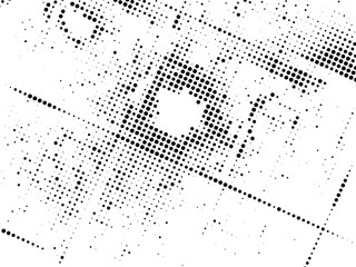 abstract halftone background. curved space