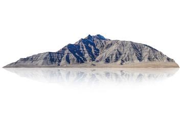 mountain isolated on white background  Fototapete