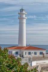 the lighthouse of Torrox Spain