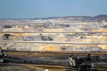Details vom Tagebau Inden