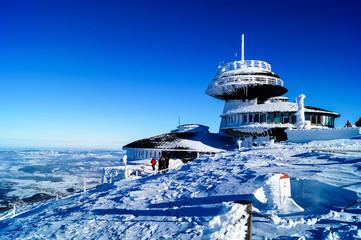 Fototapeta zima-snieżka-góry-polska