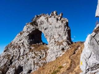 """ Bocchetta di Prada "" rock on Grigna mountain"