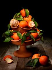 Natura morta con Clementine di Sicilia