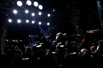 Astrid Andersen catwalk show at London Fashion Week Men's in London