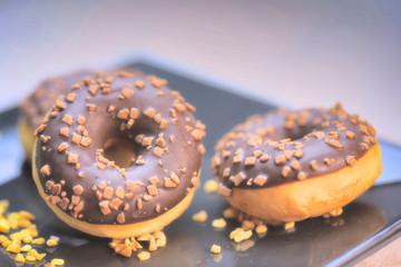 donuts,beignet au chocolat