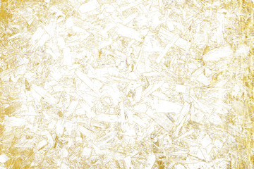 Gold splashes Texture. Brush stroke design element. Gold watercolor textures pattern of cracks, scuffs, chips, stains, ink spots, lines - Illustration