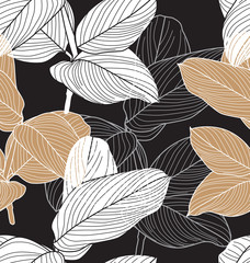 foliage seamless pattern2