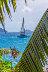 catamaran de croisières aux Seychelles