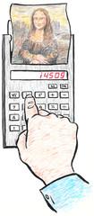 Mona Lisa calculator